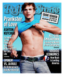 Ashton Kutcher, Rolling Stone no. 923, May 2003 Photographic Print by Martin Schoeller