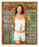 Drew Barrymore, Rolling Stone no. 854, November 2000 Photographic Print by Mark Seliger