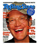 David Letterman, Rolling Stone no. 735, May 1996 Photographic Print by Albert Watson
