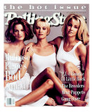 Cast of Melrose Place, Rolling Stone no. 682, May 1994 Photographic Print by Mark Seliger