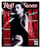 Bono, Rolling Stone no. 640, October 1992 Photographic Print by Neal Preston