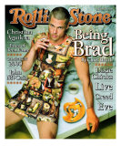 Brad Pitt, Rolling Stone no. 824, October 1999 Photographic Print by Mark Seliger