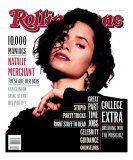 Natalie Merchant, Rolling Stone no. 652, March 1993 Photographic Print by Jeffery Thurner