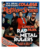 Linkin Park, Rolling Stone no. 891, March 2002 Photographic Print by Martin Schoeller
