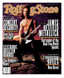 James Hetfield, Rolling Stone no. 654, April 1993 Photographic Print by Mark Seliger