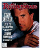 Kevin Costner, Rolling Stone no. 592, November 1990 Photographic Print by Gwendolen Cates