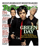 Green Day, Rolling Stone no. 968, February 2005 Photographic Print by James Dimmock
