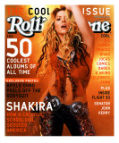 Shakira, Rolling Stone no. 893, April 2002 Photographic Print by Martin Schoeller