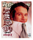 Robin Williams, Rolling Stone no. 598, February 1991 Photographic Print by Mark Seliger
