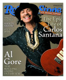 Carlos Santana, Rolling Stone no. 836, March 2000 Photographic Print by Mark Seliger
