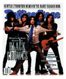 Black Crowes, Rolling Stone no. 605, May 1991 Photographic Print by Mark Seliger
