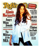 Alanis Morissette, Rolling Stone no. 720, November 1995 Photographic Print by Frank Ockenfels