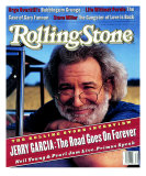 Jerry Garcia, Rolling Stone no. 664, September 1993 Photographic Print by Mark Seliger