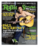 Paul McCartney, Rolling Stone no. 985, October 2005 Photographic Print by Max Vadukul