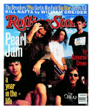 Pearl Jam, Rolling Stone no. 668, October 1993 Photographic Print by Mark Seliger