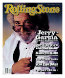 Jerry Garcia, Rolling Stone no. 616, October 1991 Photographic Print by Mark Seliger