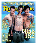 Blink 182, Rolling Stone no. 846, August 2000 Photographic Print by Mark Seliger