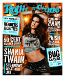 Shania Twain, Rolling Stone no. 915, February 2003 Photographic Print by Michael Thompson