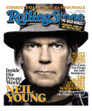 Neil Young, Rolling Stone no. 992, January 2006 Photographic Print by Platon
