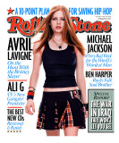 Avril Lavigne, Rolling Stone no. 918, March 2003 Photographic Print by Martin Schoeller