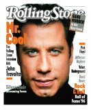 John Travolta, Rolling Stone no. 728, February 1996 Photographic Print by Mark Seliger