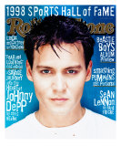 Johnny Depp, Rolling Stone no. 788, June 1998 Photographic Print by Dan Winters