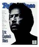 Eric Clapton, Rolling Stone no. 615, October 1991 Photographic Print by Albert Watson