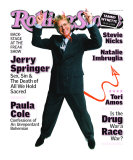 Jerry Springer, Rolling Stone no. 786, May 1998 Photographic Print by Mark Seliger