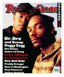 Dr. Dre and Snoop Doggy Dog, Rolling Stone no. 666, September 1993 Photographic Print by Mark Seliger
