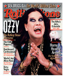 Ozzy Osbourne, Rolling Stone no. 901, July 2002 Photographic Print by Martin Schoeller
