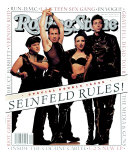 Cast of Seinfeld, Rolling Stone no. 660/661, July 1993 Photographic Print by Mark Seliger