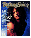 Slash, Rolling Stone no. 596, January 1991 Photographic Print by Mark Seliger