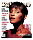 Whitney Houston, Rolling Stone no. 658, June 1993 Photographic Print by Albert Watson