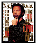 Eric Clapton, Rolling Stone no. 655, April 1993 Photographic Print by Albert Watson