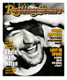 Eddie Van Halen, Rolling Stone no. 705, April 1995 Photographic Print by Mark Seliger