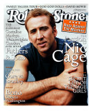 Nicolas Cage, Rolling Stone no. 825, November 1999 Photographic Print by Peter Lindbergh