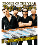 U2, Rolling Stone no. 964/965, December 2004 Photographic Print by Ruven Afanador
