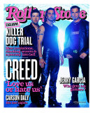 Creed, Rolling Stone no. 890, February 2002 Photographic Print by Len Irish
