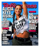Alicia Keys, Rolling Stone no. 881, October 2001 Photographic Print by Mark Seliger
