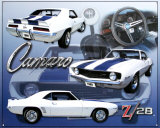 Camero Z28 Tin Sign