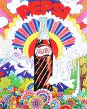 Pepsi Placa de lata