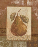 Rustic Pears II Prints by Pamela Gladding