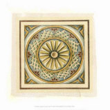 Crackled Cloisonne Tile IV Giclee Print by Chariklia Zarris