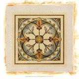 Crackled Cloisonne Tile III Premium Giclee Print by Chariklia Zarris