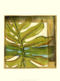 Seaside Palms III Prints by Jennifer Goldberger