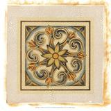 Crackled Cloisonne Tile II Giclee Print by Chariklia Zarris