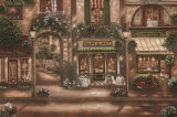 Gourmet Shoppes II Poster by Betsy Brown