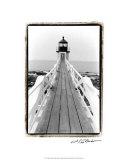 Marshall Point Light, Maine Giclee Print by Laura Denardo