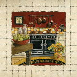 Cozy Cooking I Prints by Charlene Winter Olson