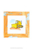 Charlie's Bulldozer Prints by Charles Swinford